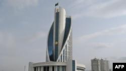 Здание Министерства здравоохранения и медицинской промышленности Туркменистана, Ашхабад