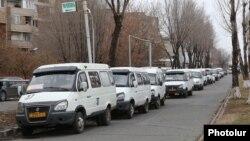 Երթուղայինների վարորդների գործադուլը Մալաթիա-Սեբաստիայում, Երևան, 16-ը հունվարի, 2018թ․
