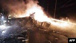 Հարավային Կորեայում կործանված ամերիկյան ռազմական ուղղաթիռը, 23-ը նոյեմբերի, 2015թ.