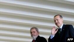 رجب طیب اردوغان و لولا داسیلوا