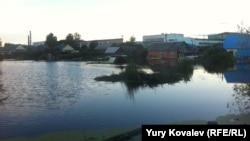 Комсомольск-на-Амуре. Затопленный поселок Силинский