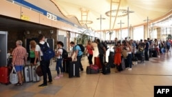 Around 80,000 Russians are estimated to be in Egypt, mainly in the Sharm el-Sheikh and Hurghada resorts. (file photo)