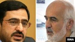 احمد توکلی (راست) و سعید مرتضوی