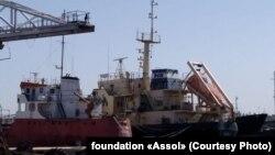 Танкери «Captain Khayyam» і «Рута» в порту Тріполі, Лівія