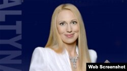 "Вице-президент холдинга ""Алтын"" Антонина Бабосюк"