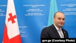 Premierul georgian Mamuka Baktadze, mai 2019