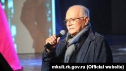 Никита Михалков на открытии фестиваля «Евразийский мост» в Ялте