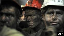 Иллюстрационное фото. Шахтёры шахты имени Засядько. Донецк, июнь 2014 года