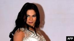 وینا ملک، هنرپیشه و مدل پاکستانی