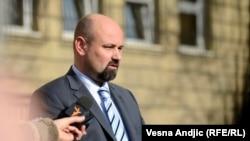 Bruno Vekarić nakon izricanja presude