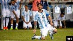 Аргентина курама командасынын капитаны Лионель Месси.