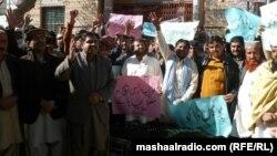 د سریاب سړک يو اوسېدونکي امان الله جنازه یې محله دارو احتجاجا په ښار کې ګرځولې او غوښتنه کوي چې د هغه وژونکي دې ونیول شي.۲۸دسبمر ۲۰۱۱