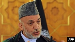Afghan President Hamid Karzai said his government would hold talks with Taliban leaders