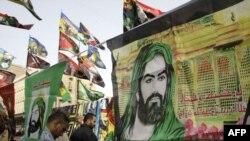 شیعیان بغداد برای مراسم عاشورا آماده میشوند
