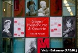 Academia Muzicală Kronberg și profesorii ei violoniști