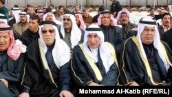 شيوخ من عشائر الموصل