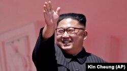 Түндүк Кореянын лидери Ким Чен Ын, Пхеньян, 9-сентябрь, 2018-жыл.