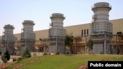 نمای عمومی از نیروگاه گازی کرمانشاه