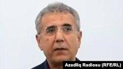 Азербайджанский правозащитник Интигам Алиев.