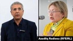 Ադրբեջանցի իրավապաշտպաններ Լեյլա Յունուսն ու Ինթիգամ Ալիևը, արխիվ