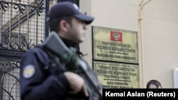 Russian Consulate in central Istanbul