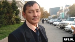 Курмангазы Рахметов, участник Декабрьских событий 1986 года. Астана, октябрь 2008 года.