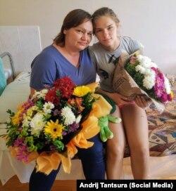 Катерина Ной (праворуч) та її мати
