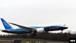 Boeing's 787 Dreamliner is 20 percent more fuel-efficient than similarly sized models.