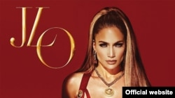 "Jennifer Lopez - Album cover ""A.K.A."""