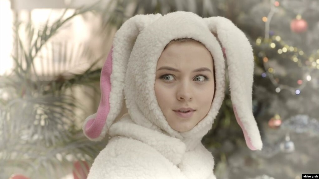 Кадр з кароткамэтражнага фільму «Падарунак Санта Клаўса», Беларусьфільм 2017
