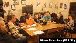"Встреча оргкомитета ""Демократического Петербурга"""