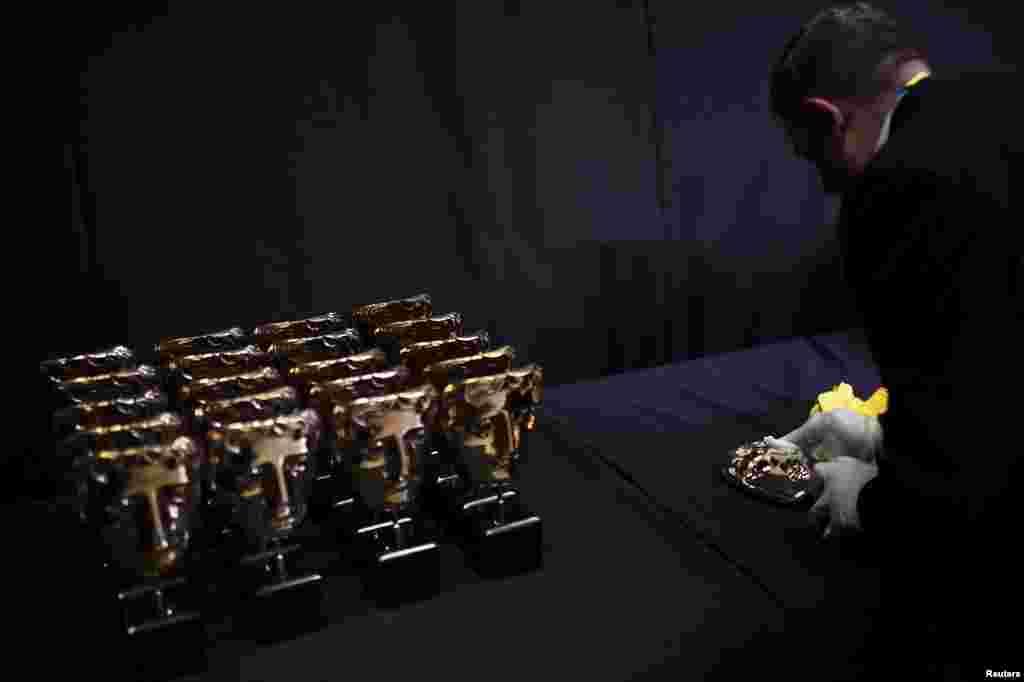 جوایز بفتا قبل از اهدا به برگزیدگان