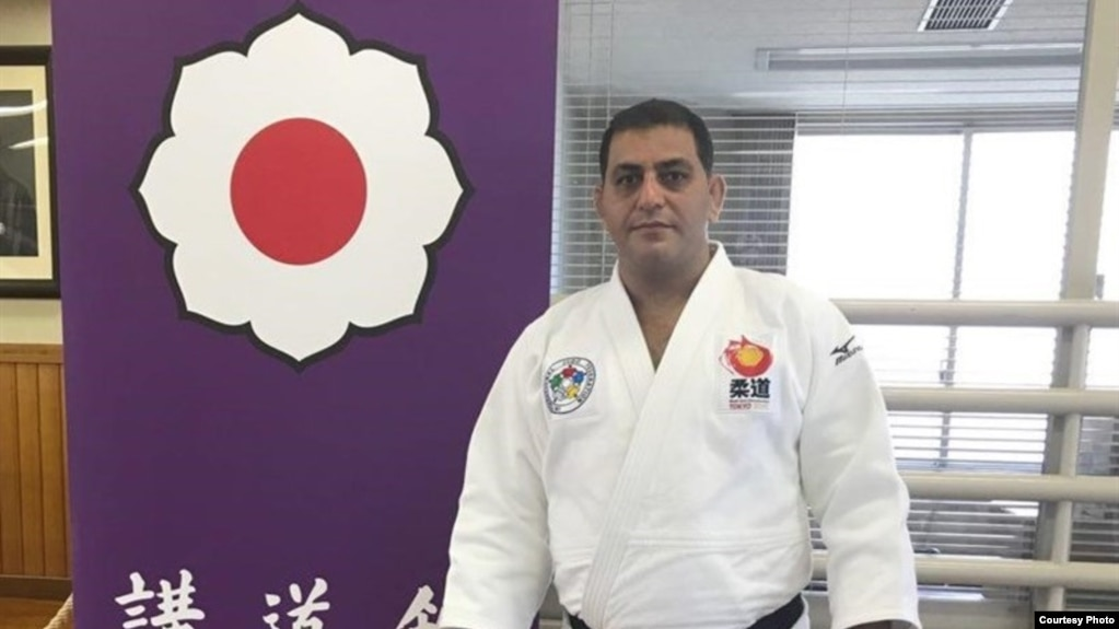 Iran's former Judo head coach, Mohamad Mansouri, is now in self-exile in Germany.