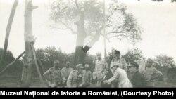Amintiri din timpul războiului, Frunzeasca, 1917; sursa:Expoziția Marele Război, 1914-1918, Muzeul Național de Istorie a României