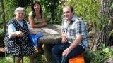 Anjela Perşiç «Azadlıq» radiosunun müxbiri Rövşən Qənbərova müsahibə verir
