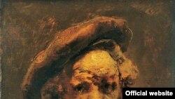 "Рембрандт, Харменс ван Рейн. Автопортрет в берете (незавершенный). Музей Гране, Экс-ан-Прованс. [Фото — <a href=""http://museum.ru"">Музеи России</a>]"