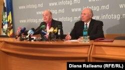 Victor Leancă și Nicolae Stratulat, Uniunea Pensionarilor