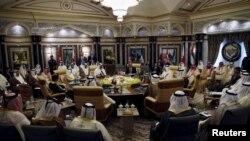 АКШ жана Перс булуңу кызматташтык кеңешинин саммити. Эр-Рияд, 21-апрель, 2016-жыл.