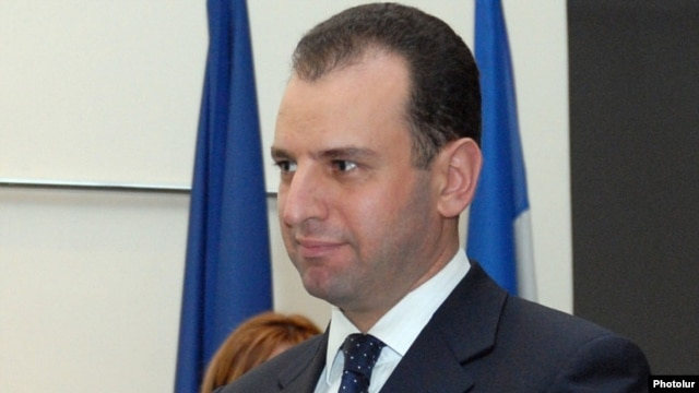 Armenia - Vigen Sargsian, the chief of President Serzh Sarkisian's staff.