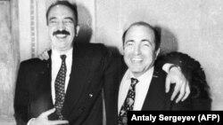 Николай Глушков (слева) и Борис Березовский, 28 октября 1994 года