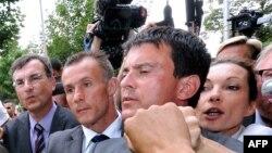 Францускиот министер за внатрешни Мануел Валс