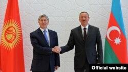 Azərbaycan prezidenti ilə Qırğısıtan prezidenti , Azərbaycan, Qəbələ 15 avqust 2013