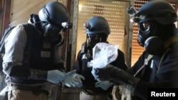 Քիմիական զենքի արգելման կազմակերպության փորձագետները աշխատում են Սիրիայում, արխիվ