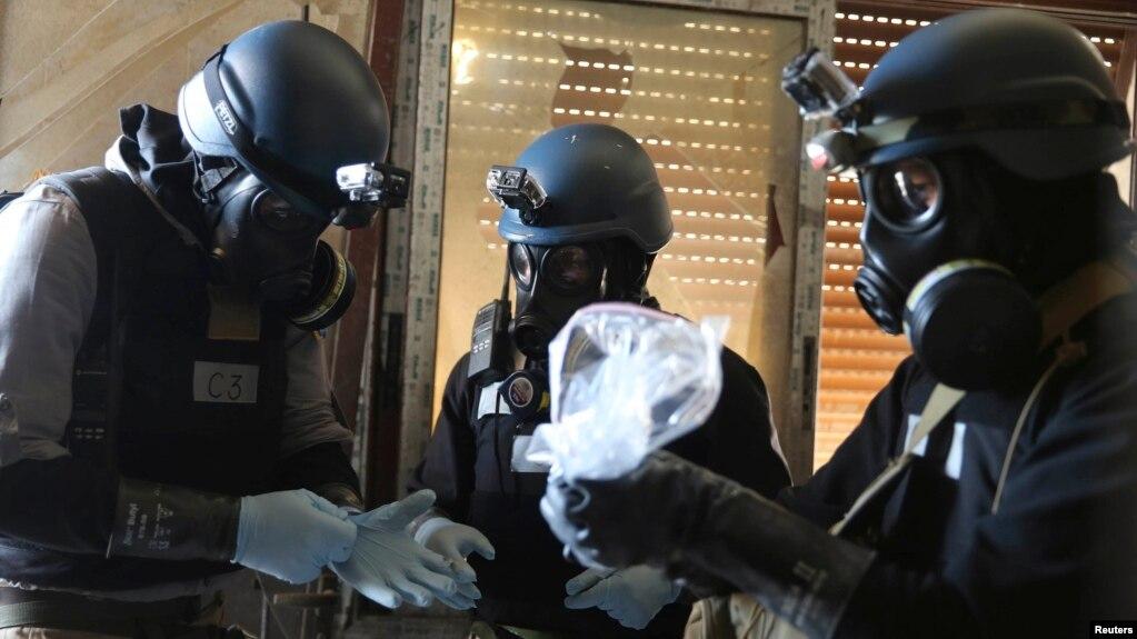 آمریکا خواستار تمدید کار بازرسان سلاحهای شیمیایی در سوریه است