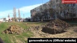 Украина, Керчь, март 2016 года