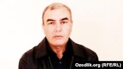 """Ислам Холбой, Өзбекстандағы оппозициялық """"Эрк"""" партиясының белсендісі."""