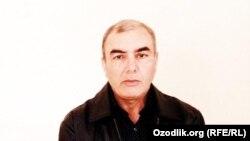 Активист оппозиционной партии «Эрк» («Воля») Ислам Холбой.