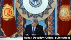 Алмазбек Атамбаев (архивное фото).