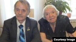 Людмила Алексеева и Мустафа Джемилев в Крыму, 2012 год.