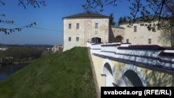 Стары замак у Горадні сёньня